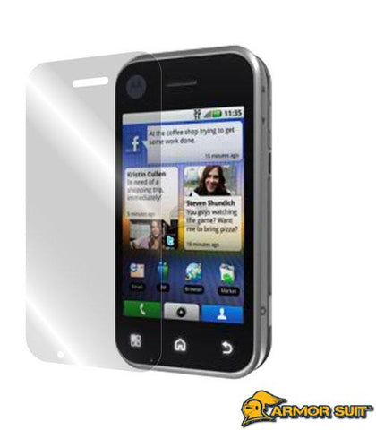 Motorola Back Flip Screen Protector