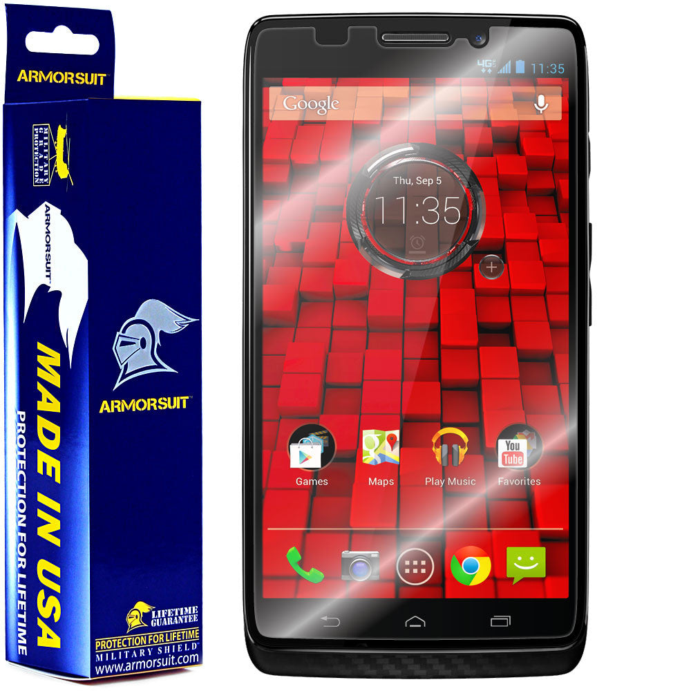 Motorola Droid Maxx Screen Protector (Case Friendly)