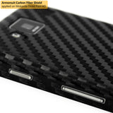 Motorola Droid Razr HD Screen Protector + Black Carbon Fiber Film Protector