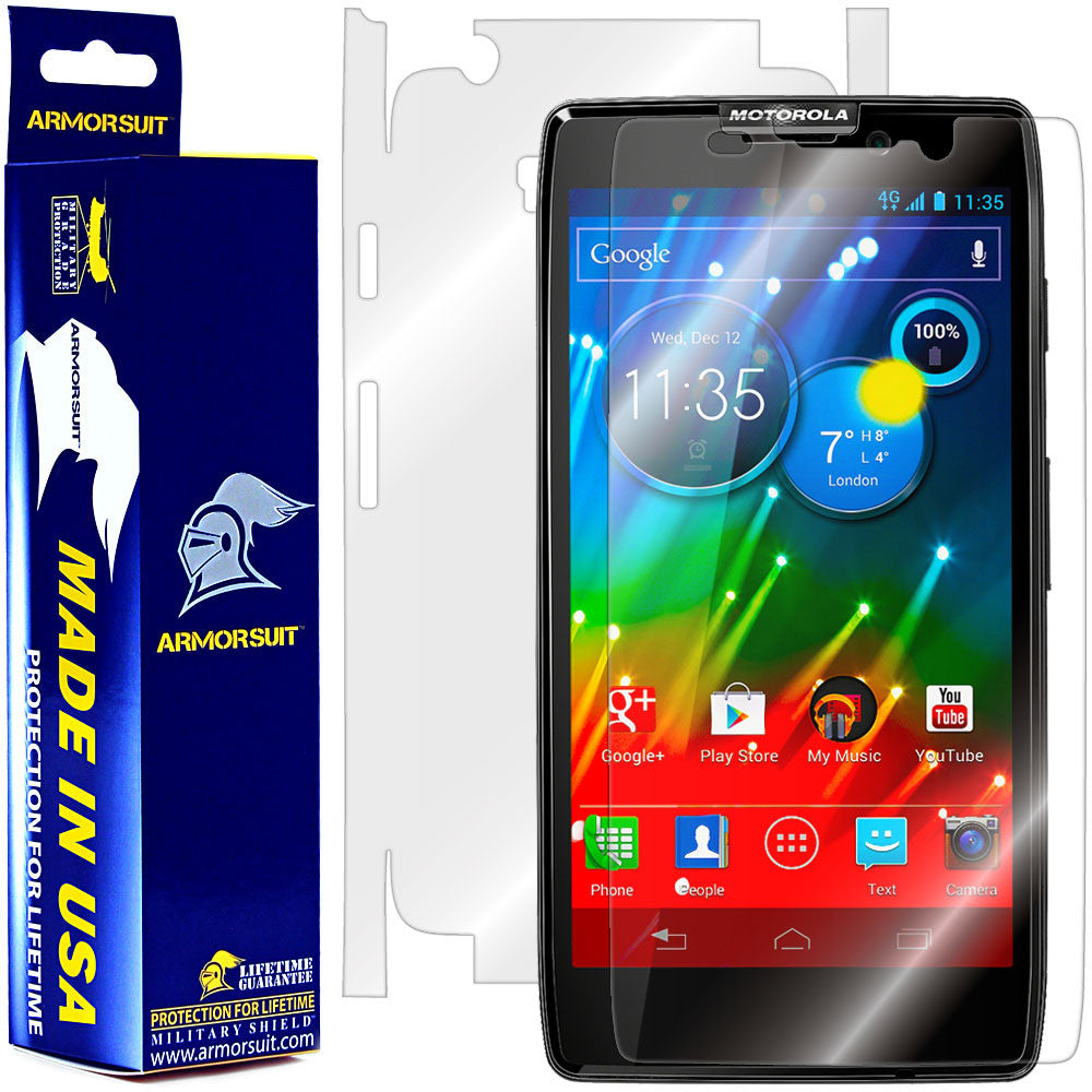 Motorola Droid Razr HD Full Body Skin Protector