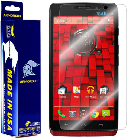 Motorola Droid Ultra Screen Protector