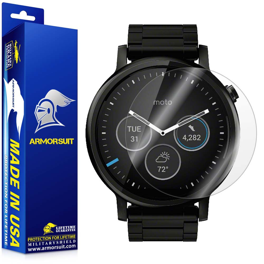 Motorola Moto 360 46mm 2nd Generation 2015 Screen Protector (2-pack)