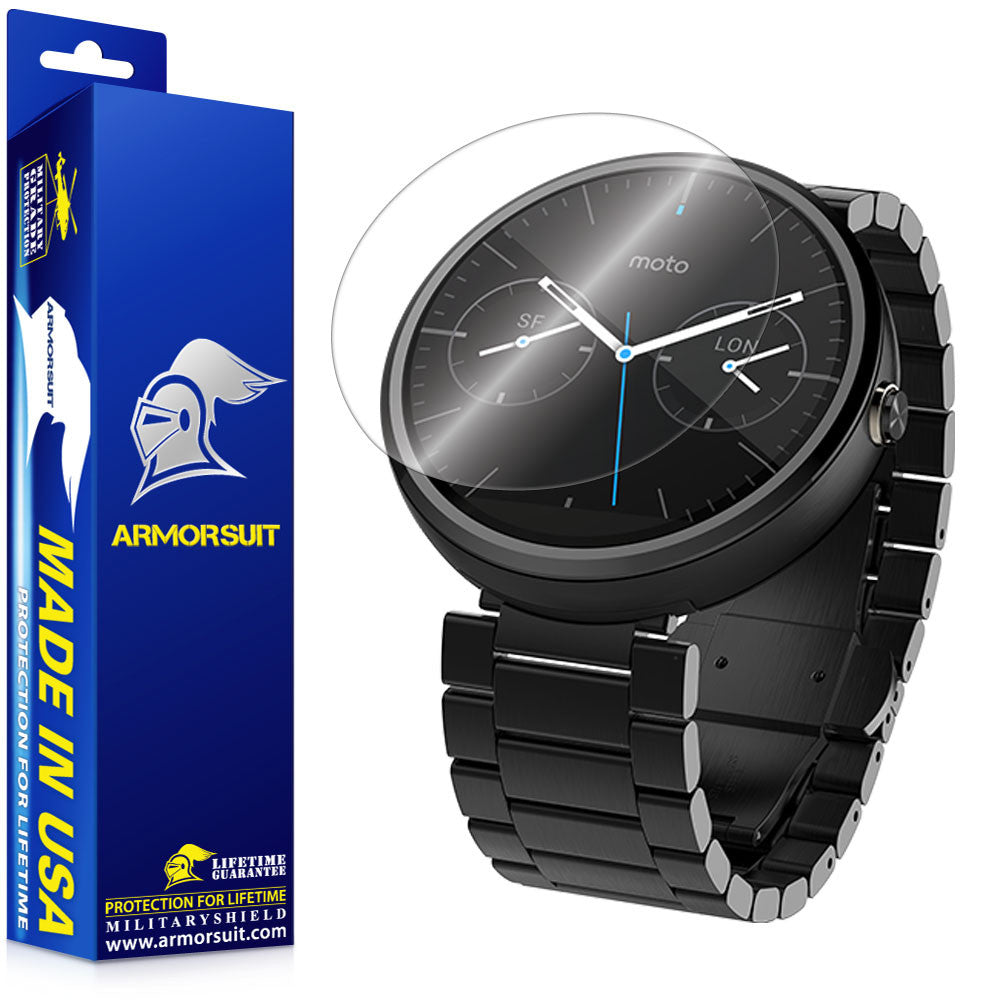 Motorola Moto 360 23mm Screen Protector (2-pack)