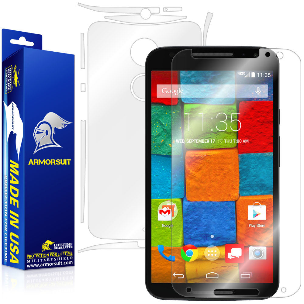 Motorola Moto X (2nd Generation 2014) Full Body Skin Protector