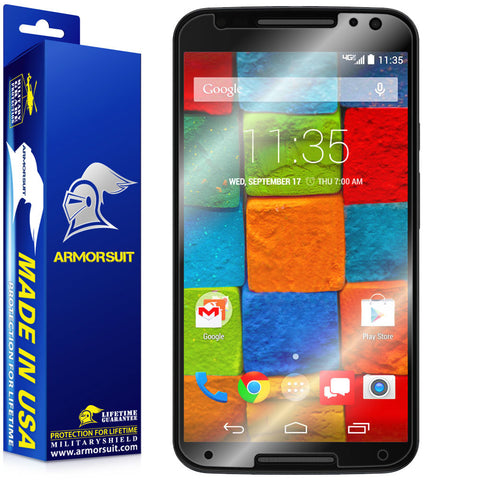 Motorola Moto X (2nd Generation 2014) Screen Protector (Case-Friendly)