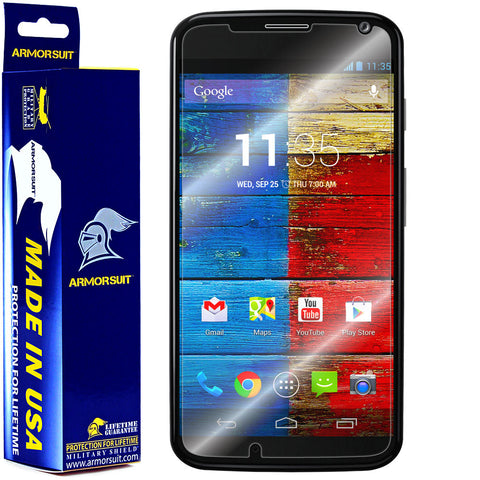 Motorola Moto X (1st Generation) Screen Protector (Case Friendly)