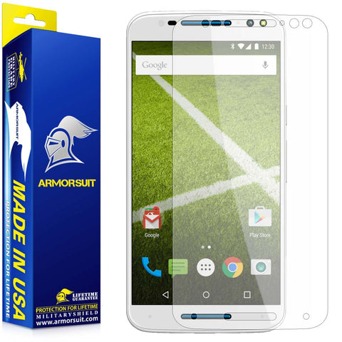 Motorola Moto X Pure Edition Anti-Glare (Matte) Screen Protector