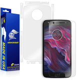 Motorola Moto X4 Screen Protector + Full Body Skin Protector