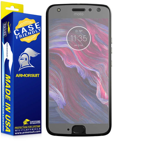 Motorola Moto G4 X4 Matte Case-Friendly Screen Protector