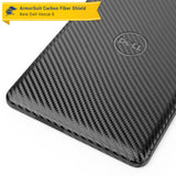 New Dell Venue 8 (2014) Screen Protector + Black Carbon Fiber Skin Protector