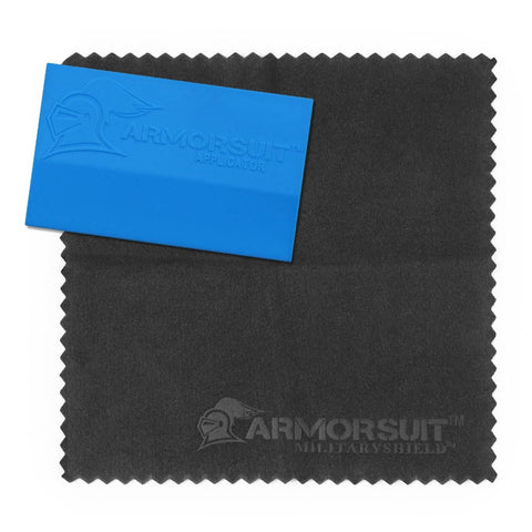 MilitaryShield® Squeegee and Microfiber Cloth