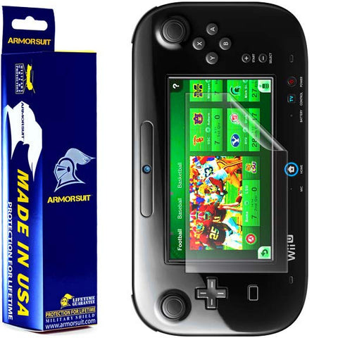 Nintendo Wii U GamePad Screen Protector