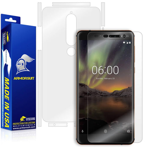 Nokia 6.1 Screen Protector + Full Body Skin