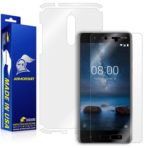 Nokia 8 Screen Protector + Full Body Skin