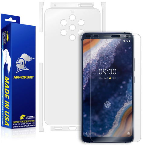 Nokia 9 Pureview Screen Protector + Full Body Skin