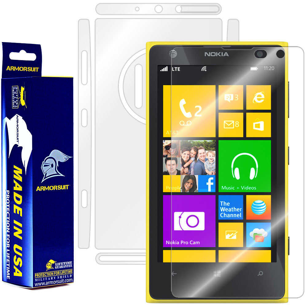 Nokia Lumia 1020 Full Body Skin Protector