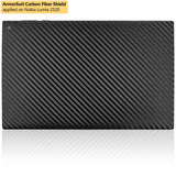 Nokia Lumia 2520 Tablet Screen Protector + Black Carbon Fiber Film Protector