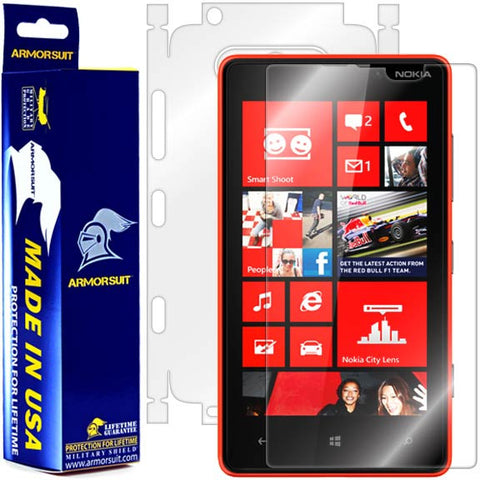 Nokia Lumia 820 Full Body Skin Protector