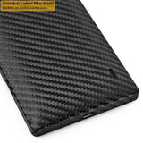 Nokia Lumia Icon Screen Protector + Black Carbon Fiber Film Protector
