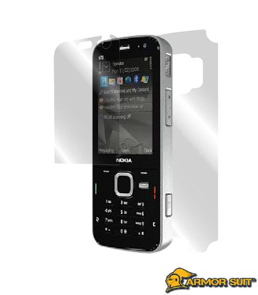 Nokia N78 Easy Installation Skin Protector