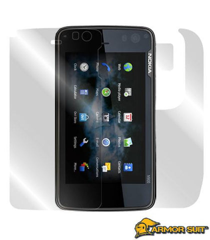 Nokia N900 Easy Installation Skin Protector