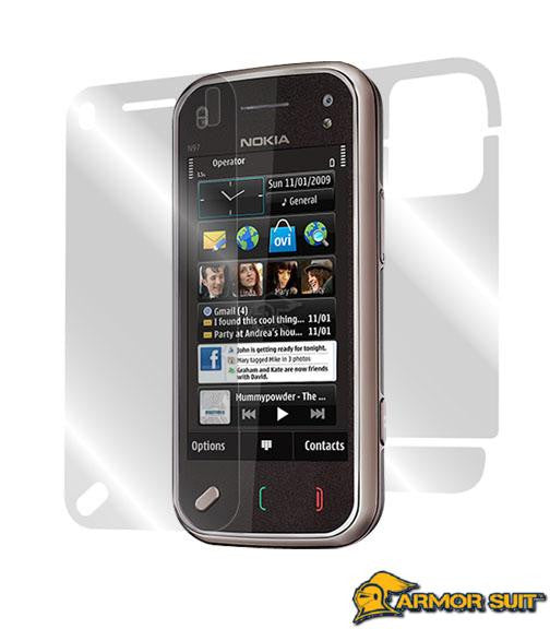 Nokia N97 Mini Easy Installation Skin Protector