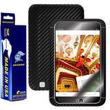 "Barnes & Noble NOOK HD 7"" Screen Protector + Black Carbon Fiber Film"