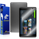 NVIDIA SHIELD Screen Protector + Black Carbon Fiber Skin