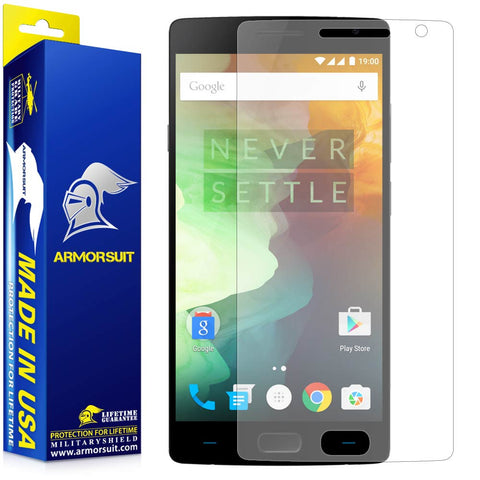 OnePlus 2 Anti-Glare (Matte) Screen Protector