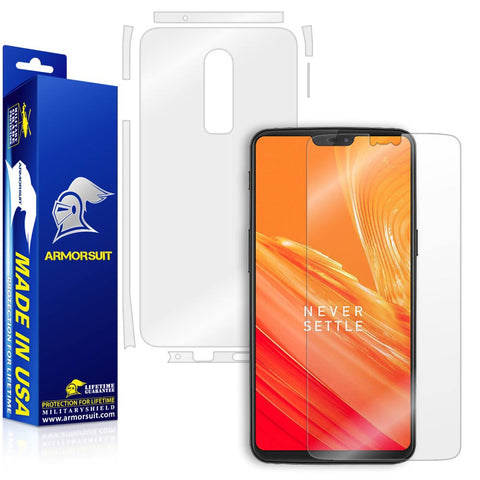OnePlus 6 Screen + Full Body Skin Protector