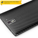 OnePlus One Screen Protector + Black Carbon Fiber Film Protector