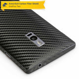 OnePlus 2 Screen Protector + Black Carbon Fiber Skin