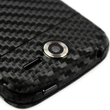 Pantech Renue Screen Protector + Black Carbon Fiber Skin Protector