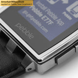 Pebble Steel Smartwatch Screen Protector + Full Body Skin Protector