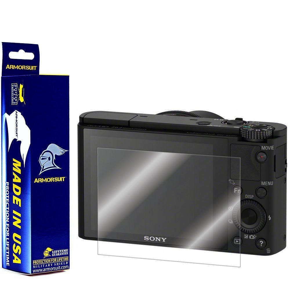 Sony DSC-RX100 II / RX100 Camera Screen Protector