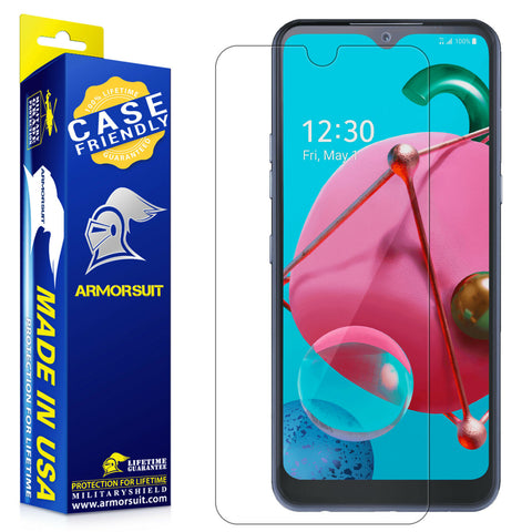 LG K51 Screen Protector - Case-Friendly Matte