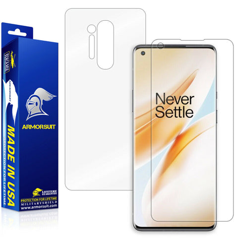 OnePlus 8 Screen Protector + Full-Body Skin