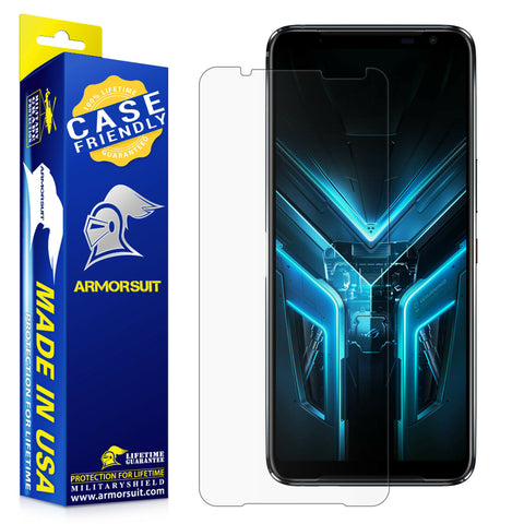 Asus ROG-3 Phone Screen Protector - Case-Friendly Matte