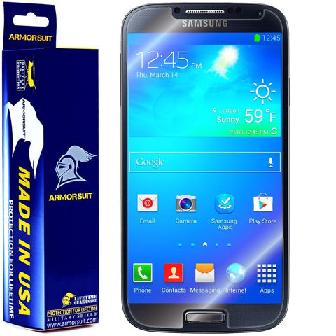 Samsung Galaxy S4 Screen Protector (Case Friendly)