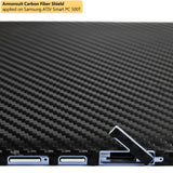 Samsung ATIV Smart PC 500T Screen Protector + Black Carbon Fiber Film Protector