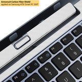 Samsung ATIV Smart PC 500T Keyboard White Carbon Fiber Film Protector