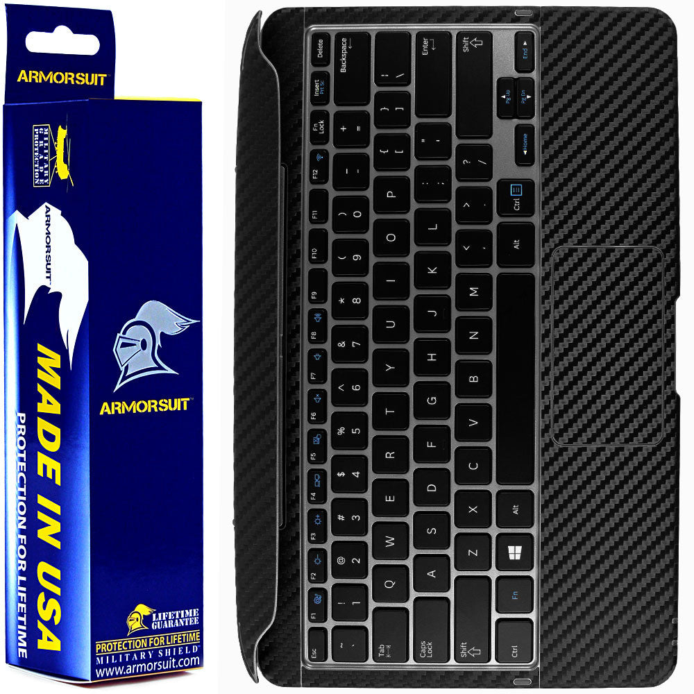 Samsung ATIV Smart PC Pro 700T Keyboard Black Carbon Fiber Film Protector