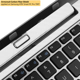 Samsung ATIV Smart PC Pro 700T Keyboard White Carbon Fiber Film Protector