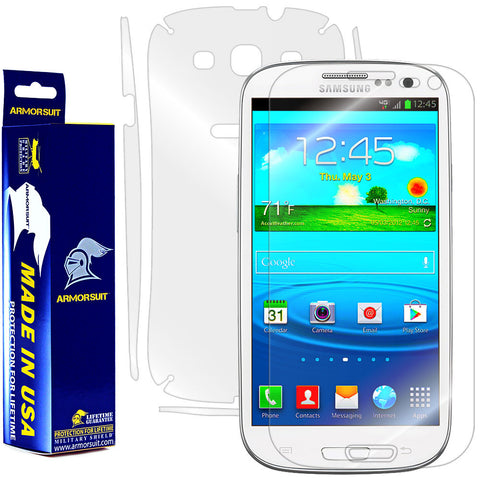 Samsung Galaxy S3 Full Body Skin Protector