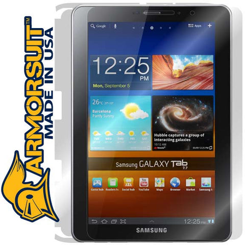 Samsung Galaxy Tab 7.7 Full Body Skin Protector