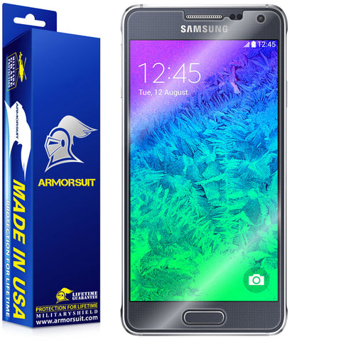 Samsung Galaxy Alpha Screen Protector (Case-Friendly)