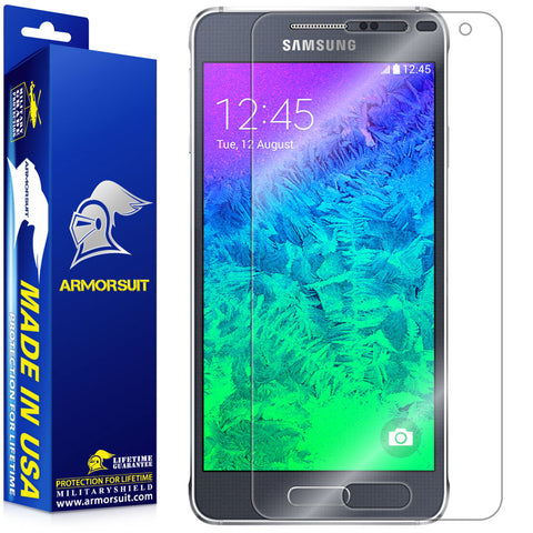 Samsung Galaxy Alpha Screen Protector