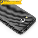 Samsung Galaxy Avant Screen Protector + Black Carbon Fiber Skin