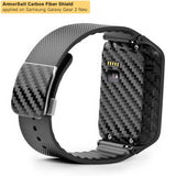 Samsung Galaxy Gear 2 Neo Screen Protector + Black Carbon Fiber Film Protector