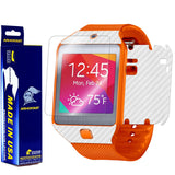 Samsung Galaxy Gear 2 Neo Screen Protector + White Carbon Fiber Film Protector